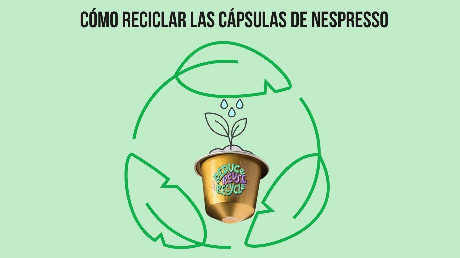 Cómo reciclar las cápsulas de Nespresso